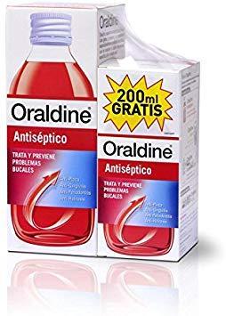 ORALDINE 400ML+ 200ML GRATIS