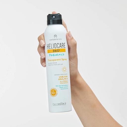 Heliocare 360º Pediatrics Transparent Spray SPF 50+