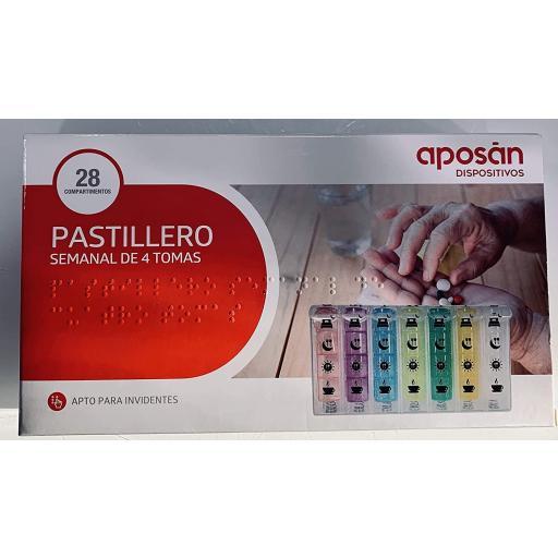 PASTILLERO SEMANAL 4 TOMAS APOSAN