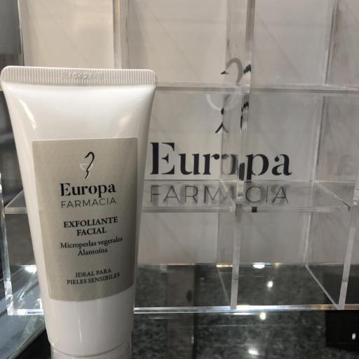 Exfoliante facial Farmacia Europa