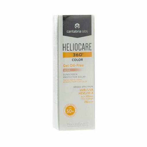 HELIOCARE 360º COLOR GEL OIL-FREE BEIGE 50 ML
