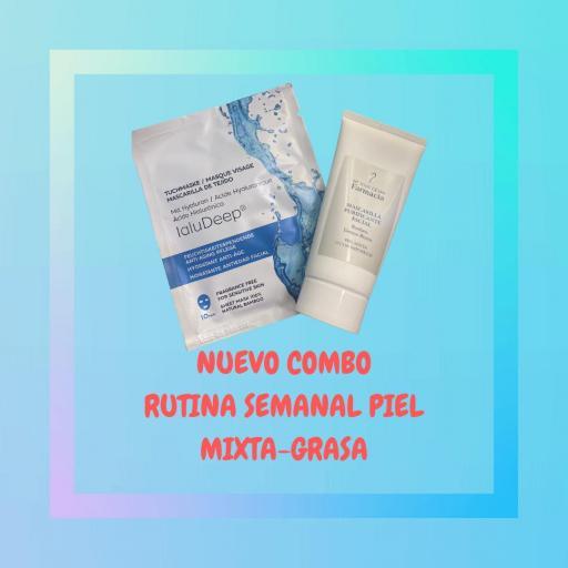 PACK RUTINA SEMANAL PIEL GRASA-MIXTA