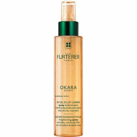 Okara  Blond  Spray aclarante Cabellos rubios naturales, con mechas o coloreados 150 ML  RENE FURTERER