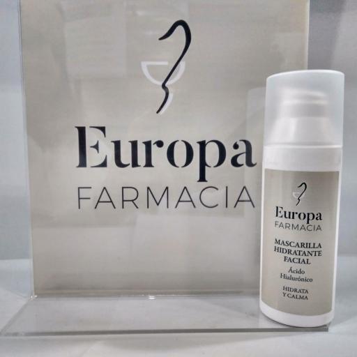 MASCARILLA HIDRATANTE FARMACIA EUROPA