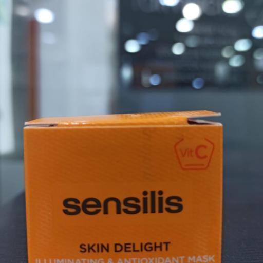 Sensilis Skin Deligth mascarilla iluminadora y antioxidante 5ml