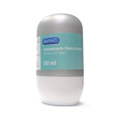ALVITA DESODORANTE PIEDRA DE ALUMBRE ROLL ON 50 ML
