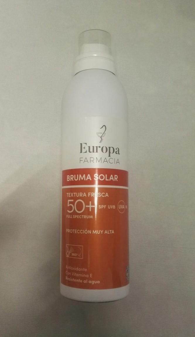 FOTOPROTECTOR CORPORAL SPF50 BRUMA FARMACIA EUROPA 200ML