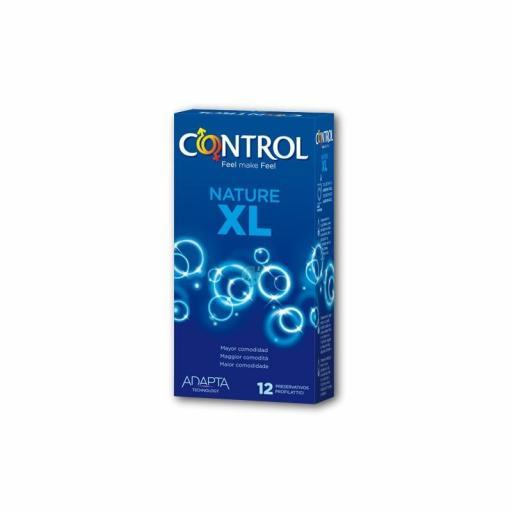 Control Adapta Nature XL preservativos 12uds