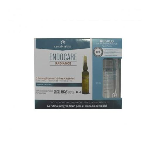 ENDOCARE-C PROTEOGLICANOS OIL FREE 30 AMPOLLAS X 2ML + REGALO AGUA MICELAR 100ML
