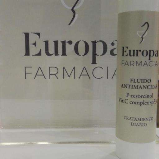 FLUIDO ANTIMANCHAS SPF30 FARMACIA EUROPA 50ML