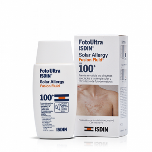 SOLAR ALLERGY FUSION FLUID SPF 100 ISDIN 50ML
