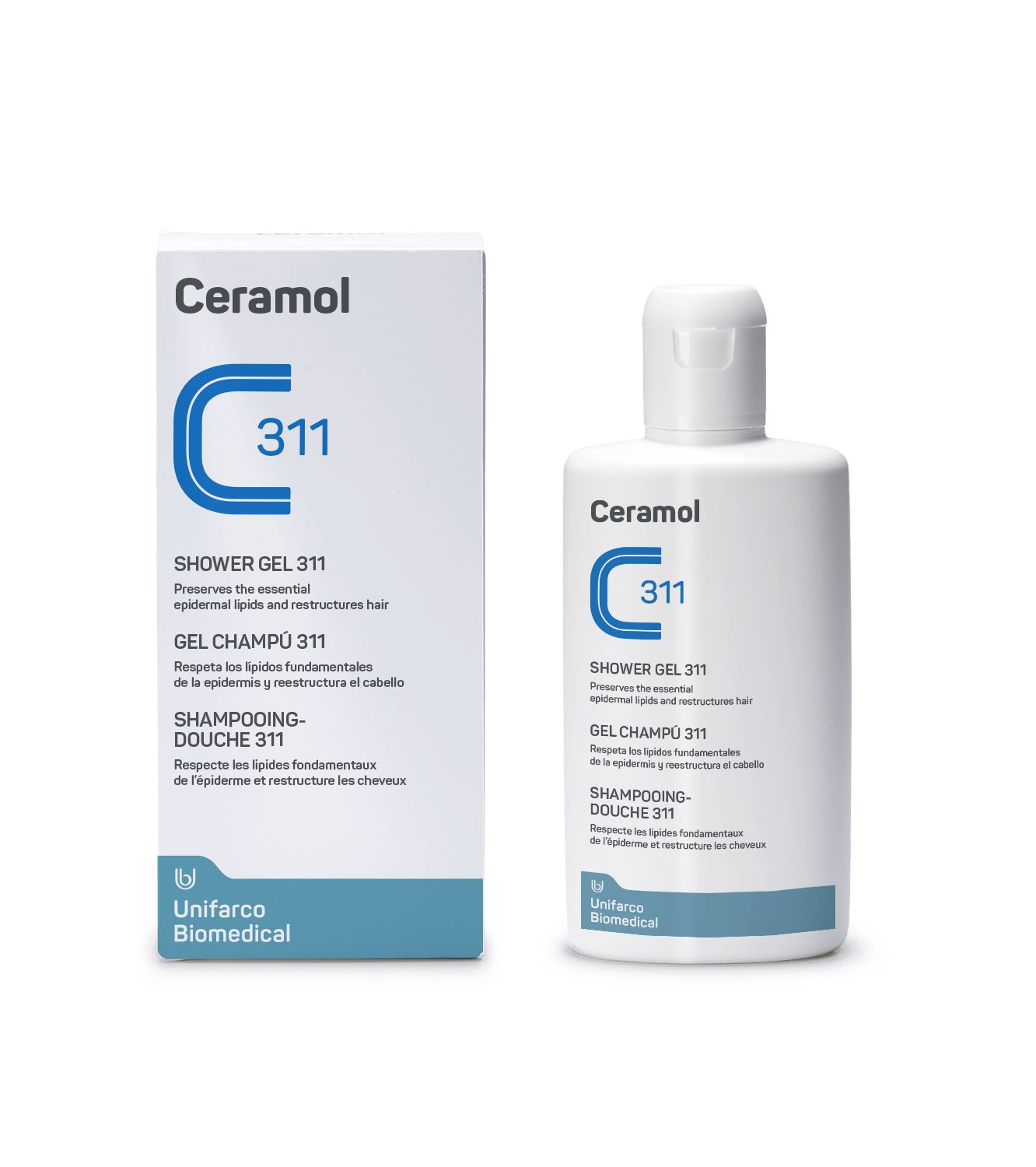 CERAMOL 311 GEL-CHAMPÚ  200ML