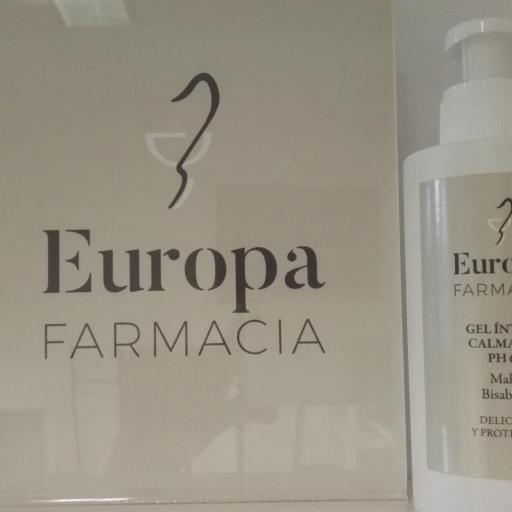 GEL ÍNTIMO CALMANTE FARMACIA EUROPA 250ML