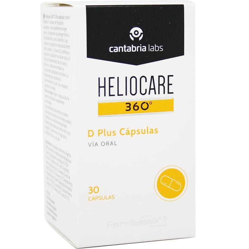 Heliocare 360 D Plus 30 Capsulas