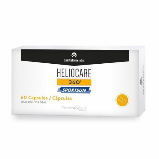 HELIOCARE 360° SPORTSUN 60 CÁPSULAS