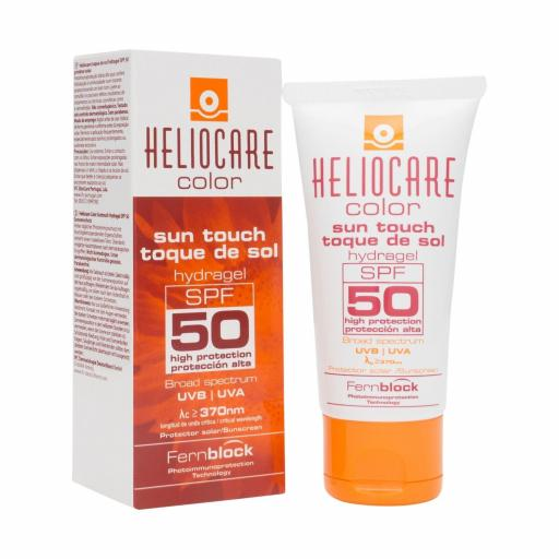 HELIOCARE COLOR TOQUE DE SOL HYDRA GEL  SPF 50- 50 ML