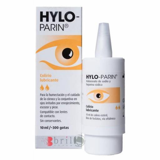HYLO-PARIN COLIRIO 10ML