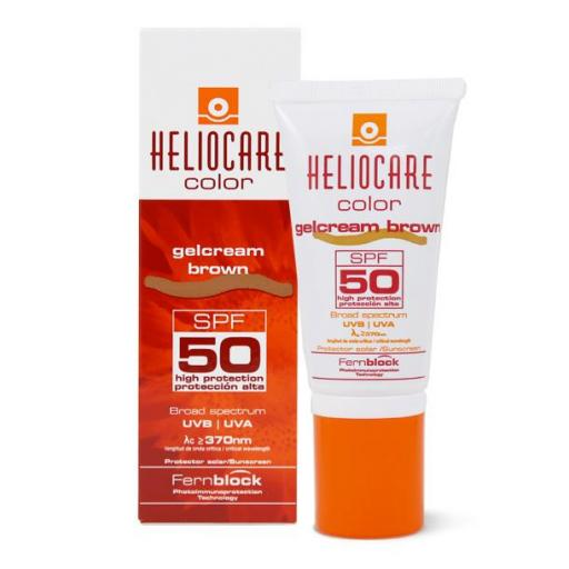HELIOCARE GELCREAM COLOR BROWN SPF 50 50 ML