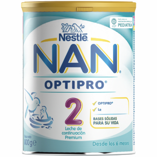 LECHE NESTLE NAN OPTIPRO 2 800 gr.