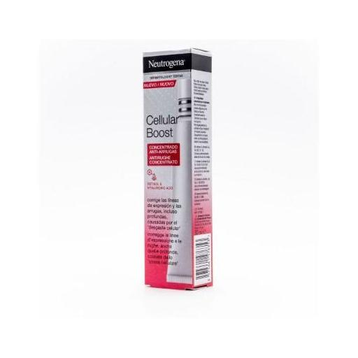 NEUTROGENA CELLULAR BOOST FACIAL CONCENTRADO ANTIARRUGAS INTENSIVO 30ml