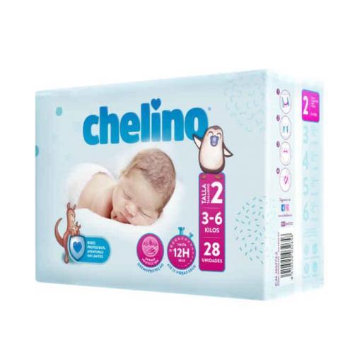 PAÑALES CHELINO TALLA 2
