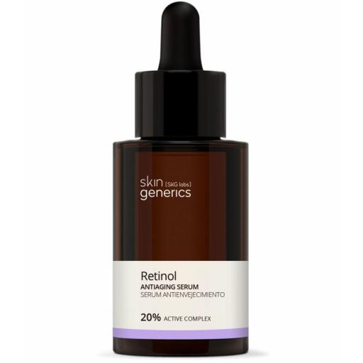 SKIN GENERICS Serum antienvejecimiento Retinol- 20% Complejo Activo
