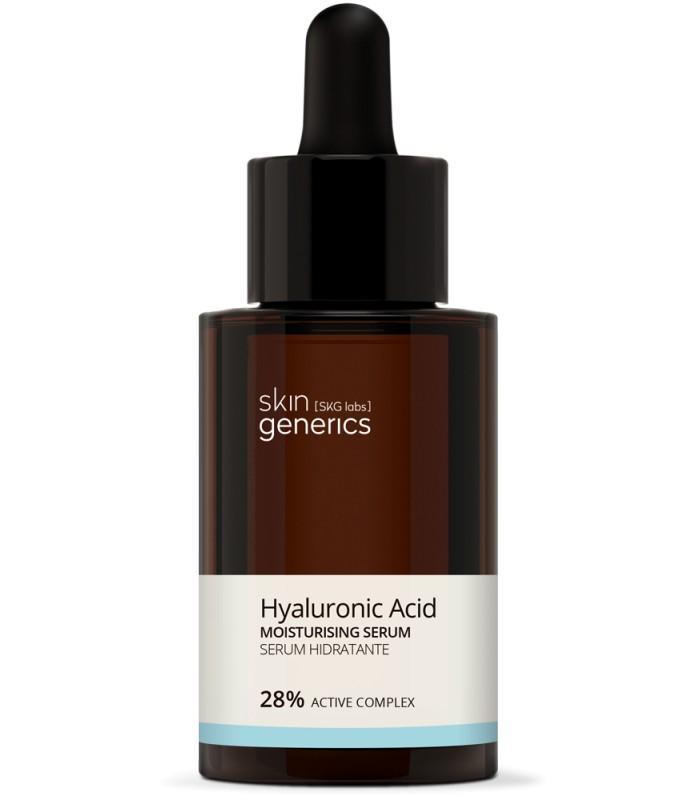 SKIN GENERICS Serum hidratante Ácido hialurónico 28% Complejo Activo 30 ml