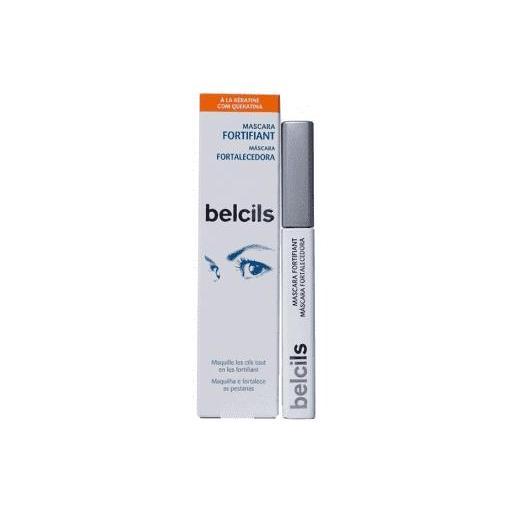 Belcils  Máscara Fortalecedora Pestañas 7ml Maquilla  Color Negro