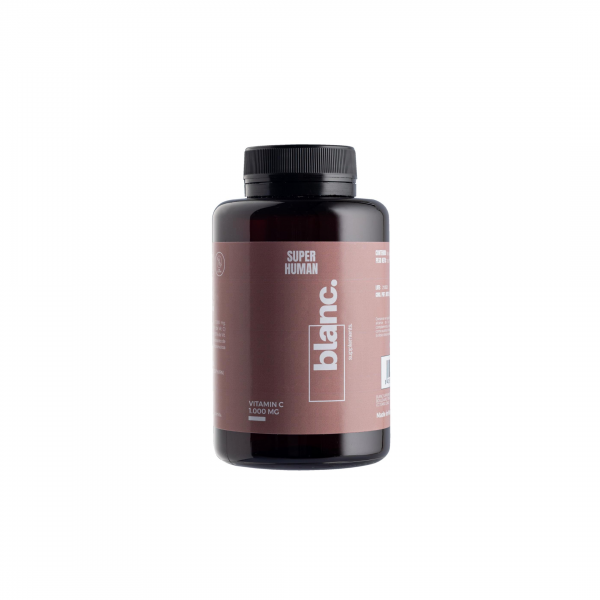 Blanc Supplements Super Human- Vitamina C  90 capsulas