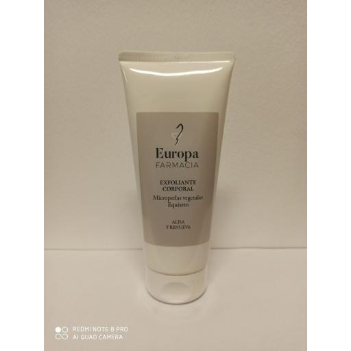 EXFOLIANTE CORPORAL FARMACIA EUROPA 200ML