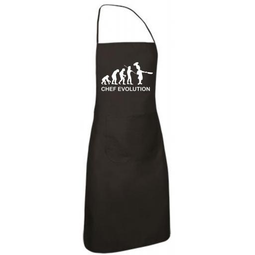 Delantal de Cocina Chef Evolution