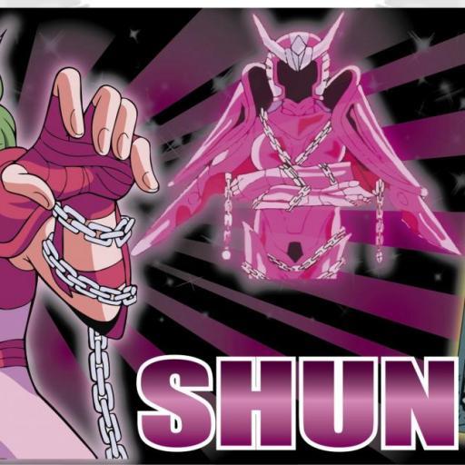 Taza Caballeros del Zodíaco Shun (004)