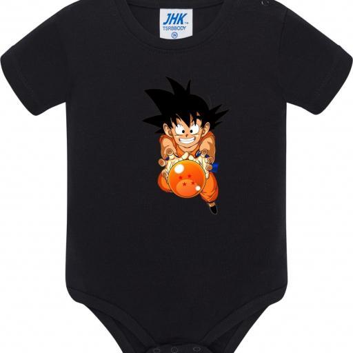 Body de Bebé Goku Bola de Dragon [1]
