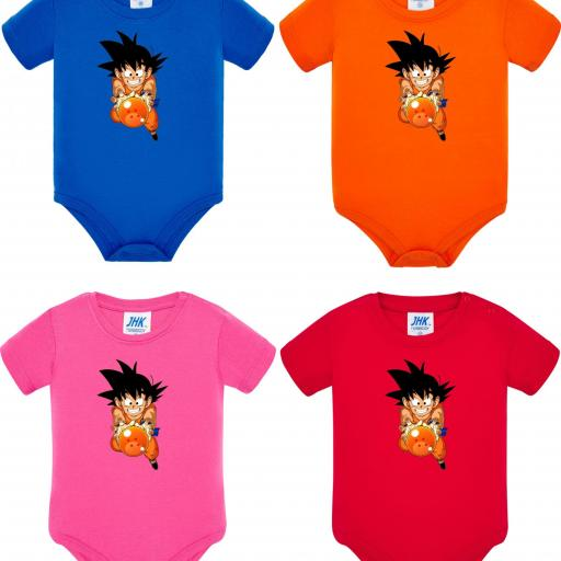 Body de Bebé Goku Bola de Dragon