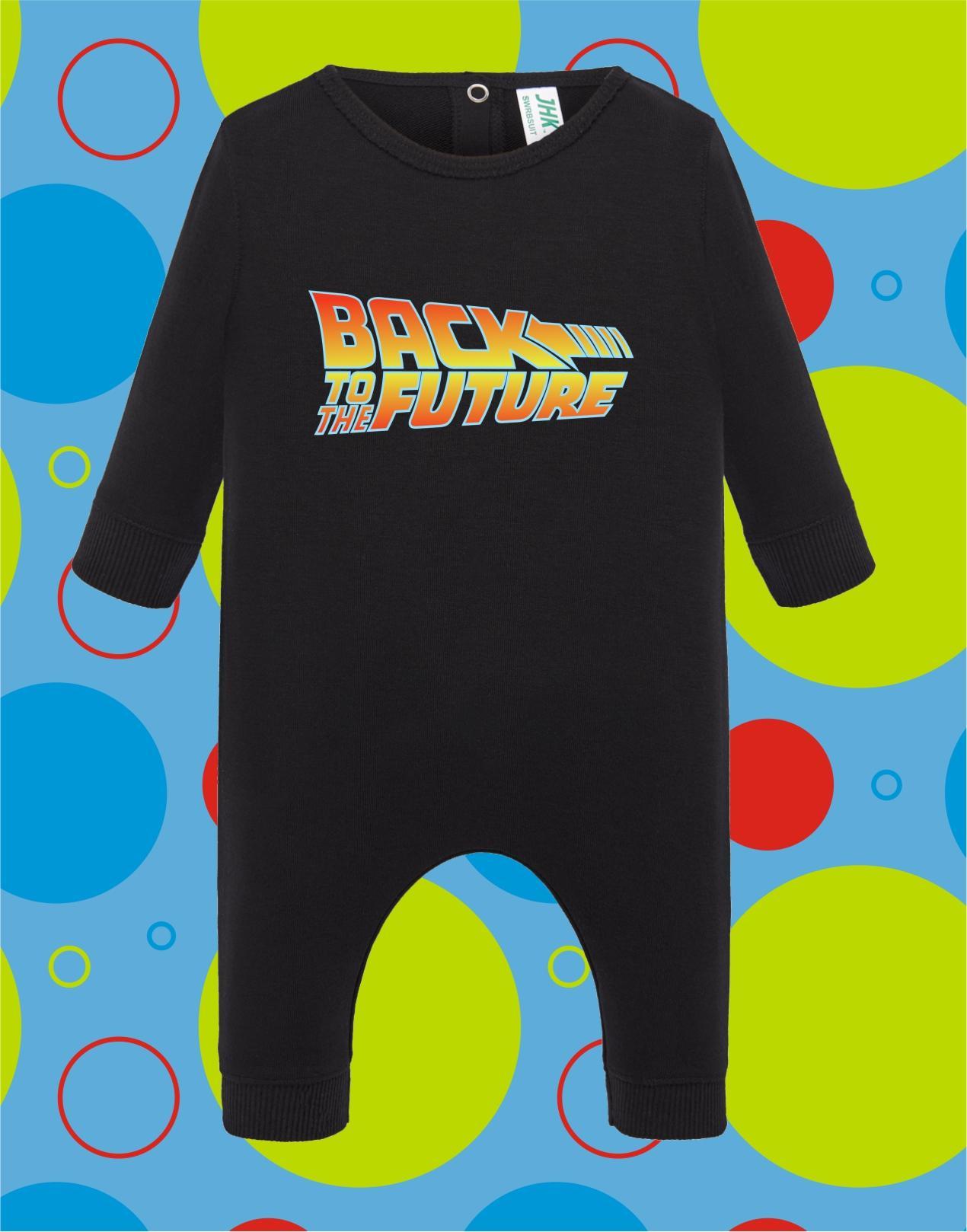 Pelele de bebé Back to the Future