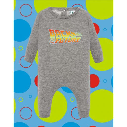 Pelele de bebé Back to the Future [1]