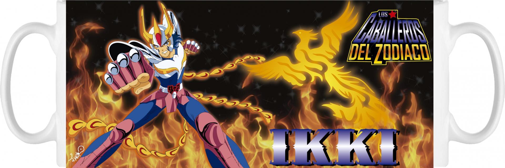 Taza Caballeros del Zodíaco Ikki (006)