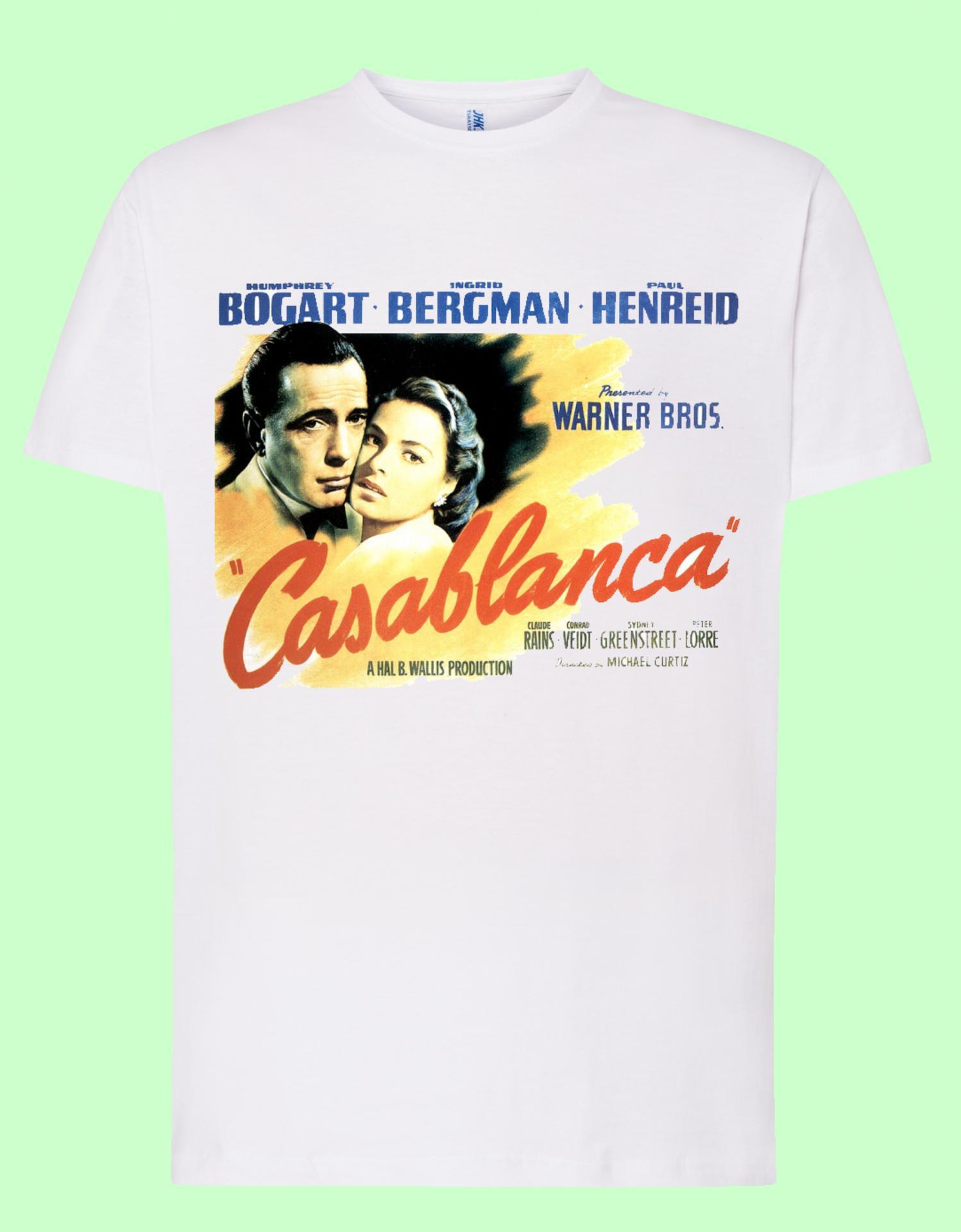 Camiseta blanca Casablanca