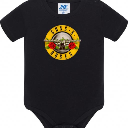 Body de Bebé Guns and Roses
