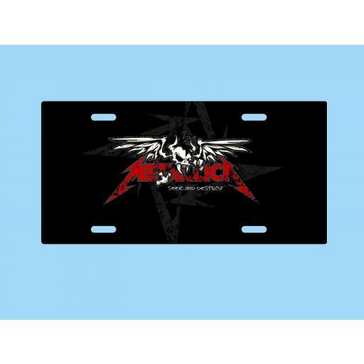 Placa de Metal Metallica