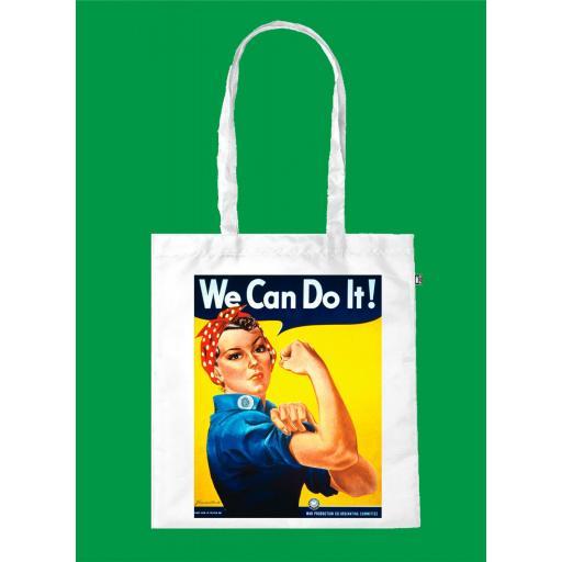 Bolsa de Asa Ecológica We can do it