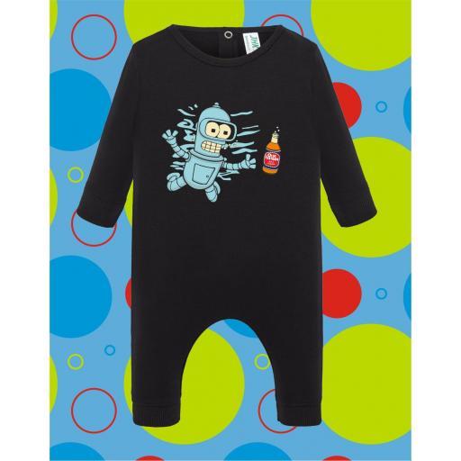 Pelele de bebé Bender [3]