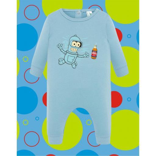 Pelele de bebé Bender [1]