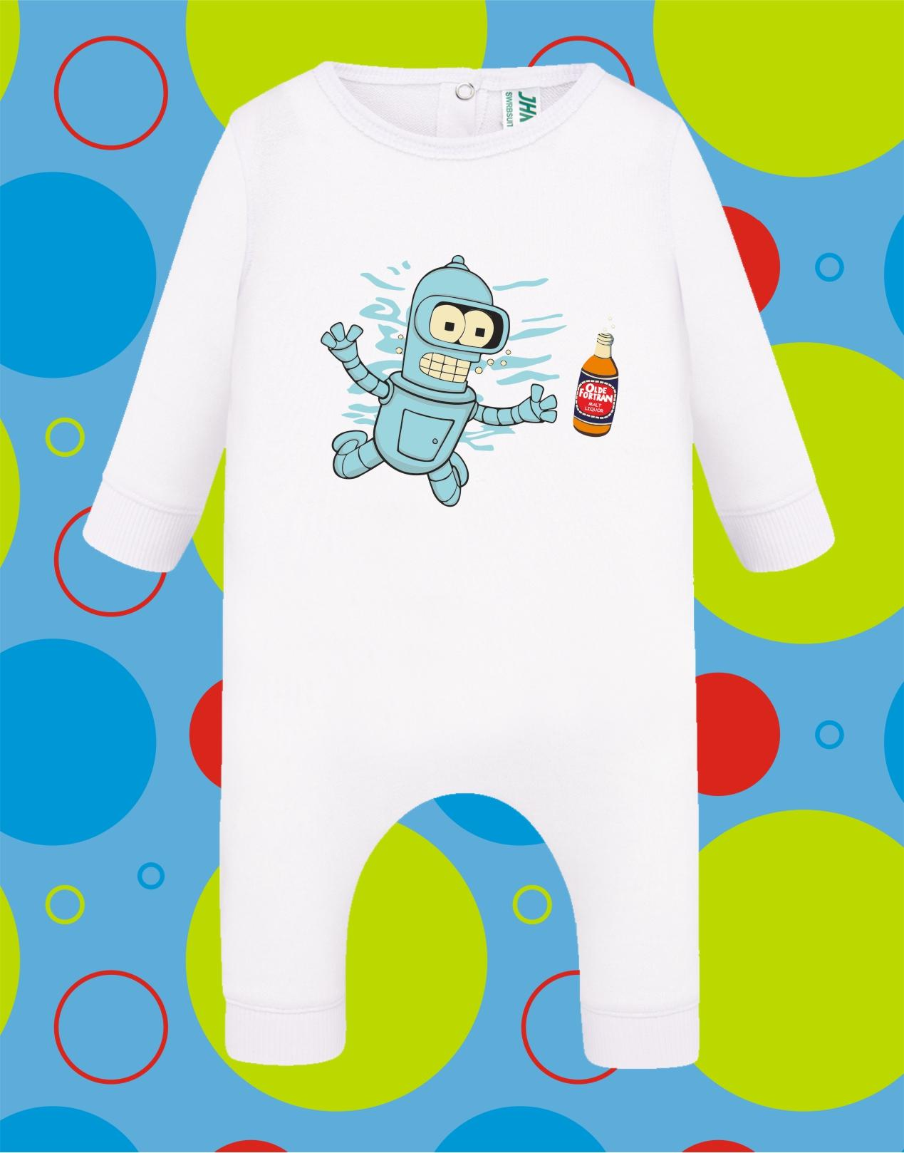 Pelele de bebé Bender