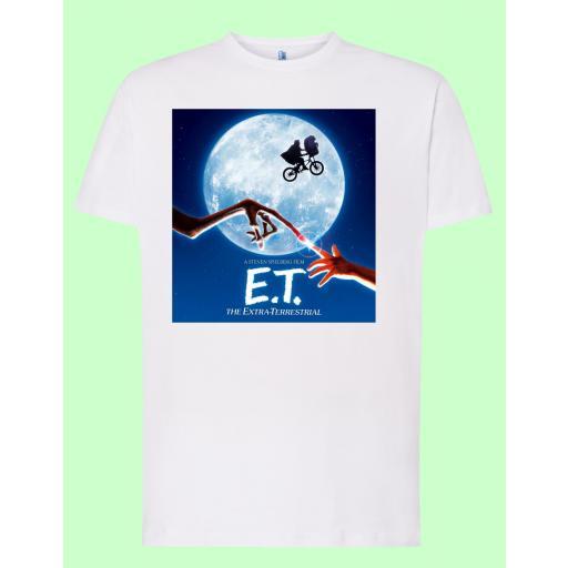 Camiseta blanca E.T.