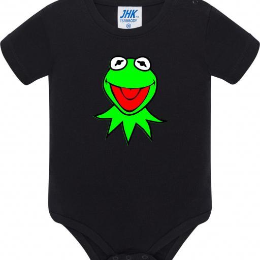 Body de Bebé Rana Gustavo - Kermit [1]
