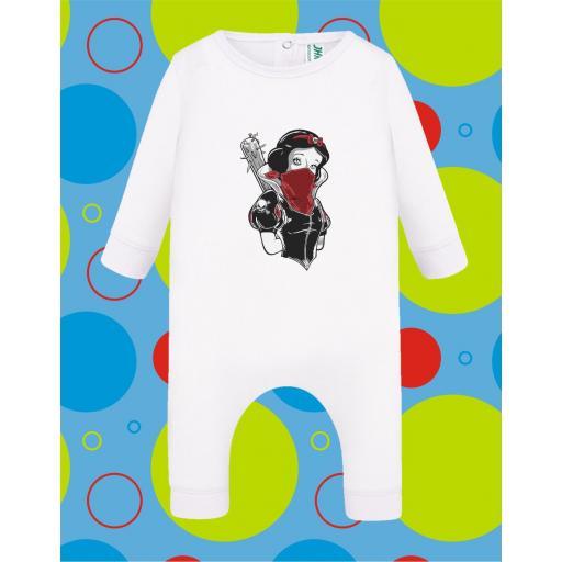 Pelele de bebé Blancanieves [2]