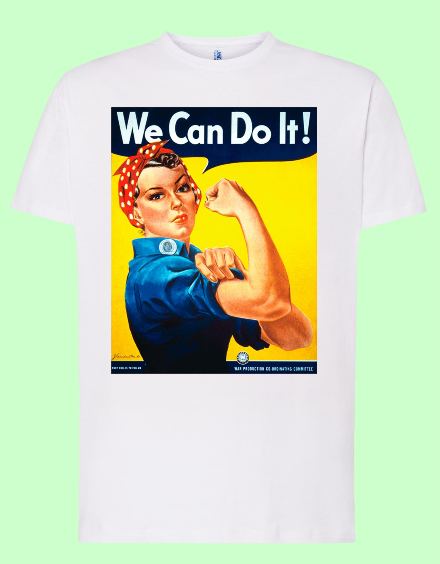 Camiseta blanca We can do It