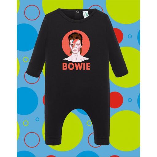 Pelele de bebé Bowie