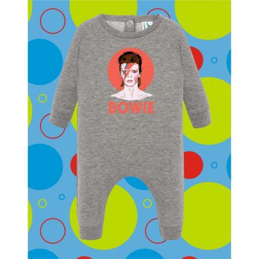 Pelele de bebé Bowie [1]